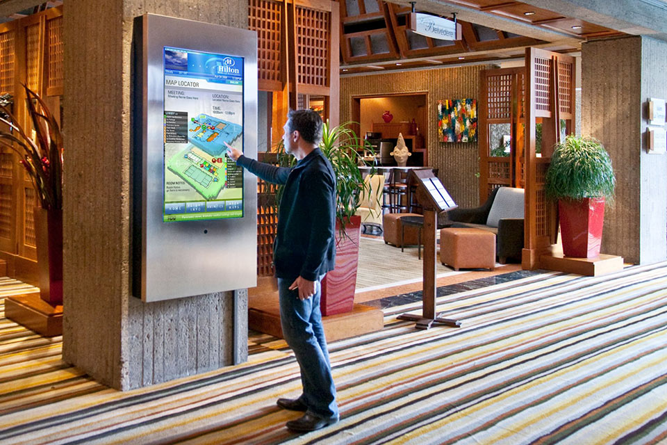 Bonaventure Hilton Wayfinding | Touch Screen Solutions
