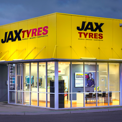 Jax Tyres Store | Touch Screen Solutions