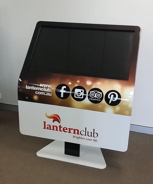 Skape 42 Lantern Club Kiosk | Touch Screen Solutions