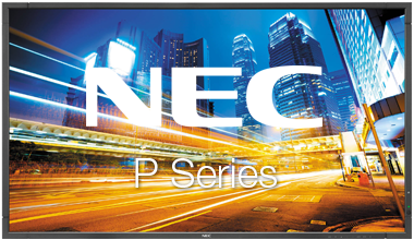 NEC P Series Touch Screen | Touch Screen Solutions