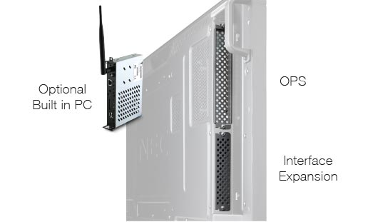 NEC V Series PC Expansion Img | Touch Screen Solutions