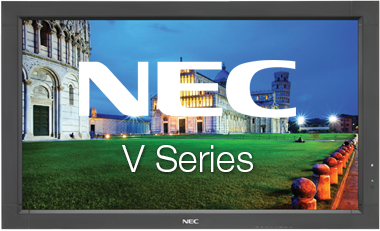 NEC V Series Touch Screen | Touch Screen Solutions