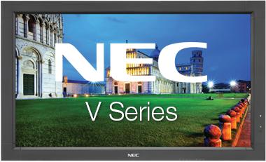 NEC-V-series-touchscreen
