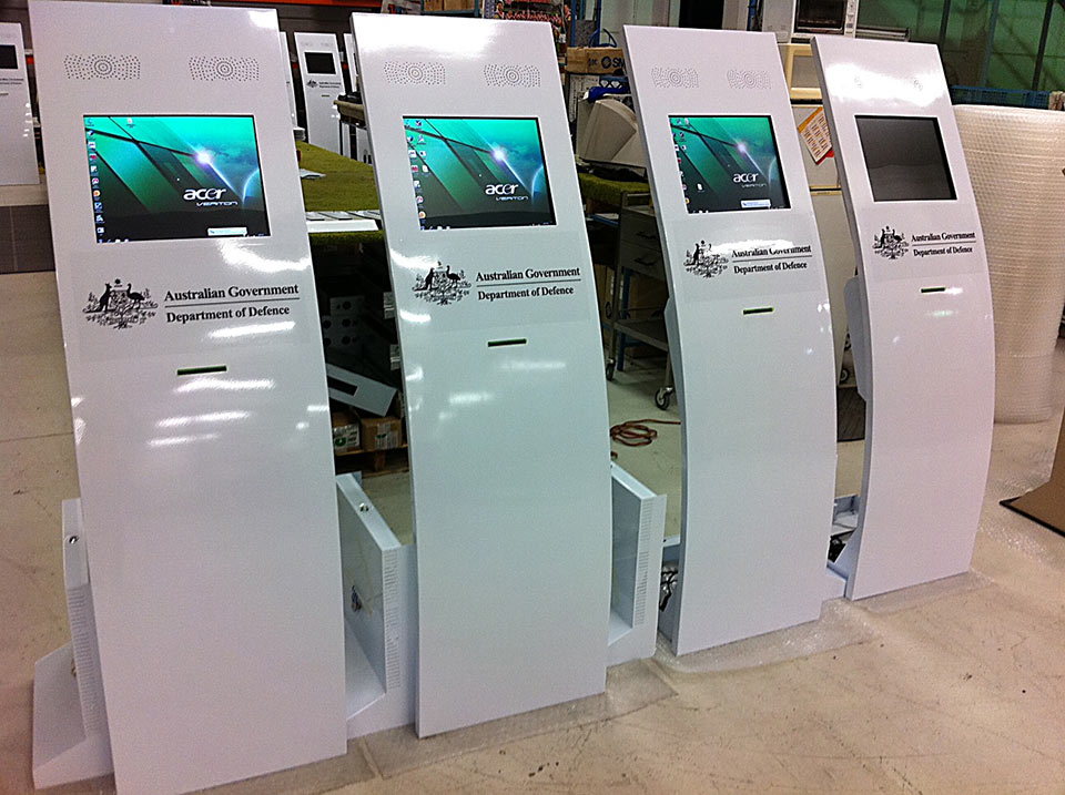 Curvex Kiosks | Touch Screen Solutions