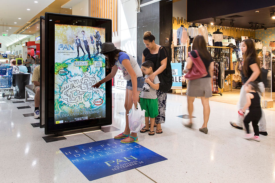 Interactive PAN Movie Campaign | Touch Screen Solutions