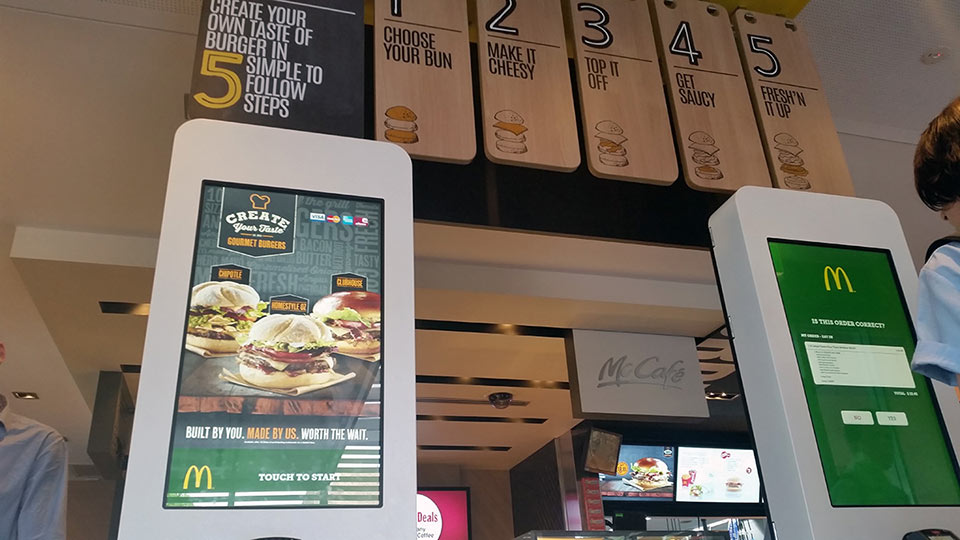 MCDonalds Self Serve | Touch Screen Solutions