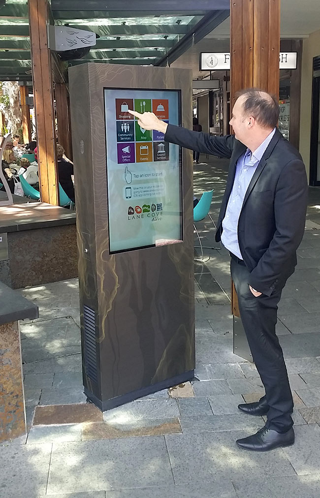 Outdoor 42 Kiosk Shopping Center | Touch Screen Solutions