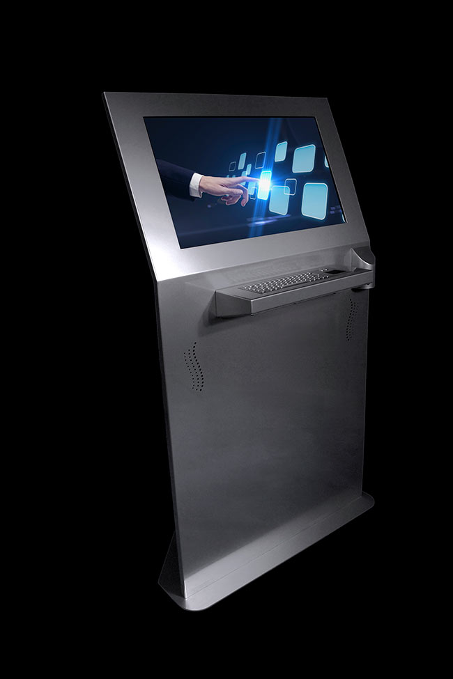 Miner Kiosk Angled | Touch Screen Solutions