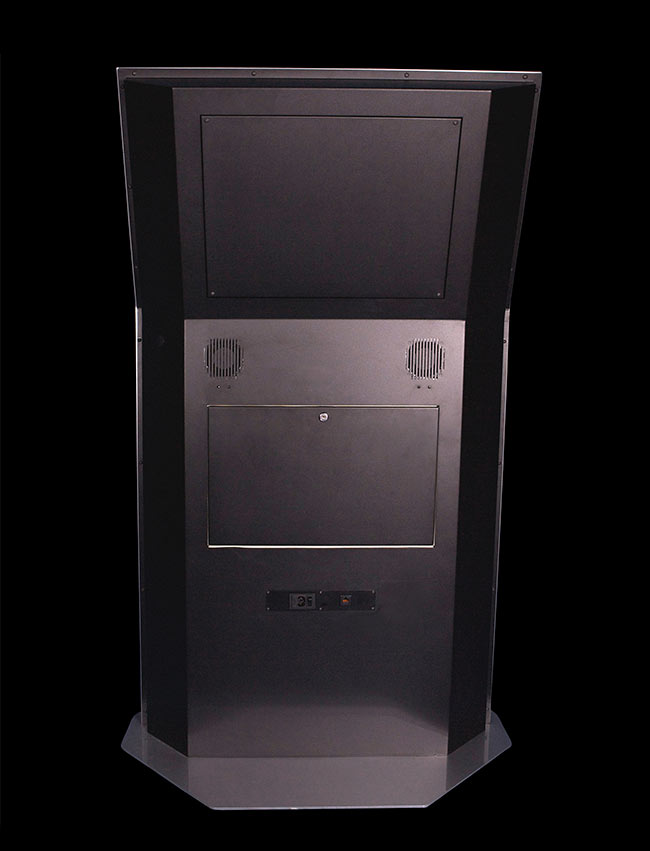 Miner Kiosk Back | Touch Screen Solutions