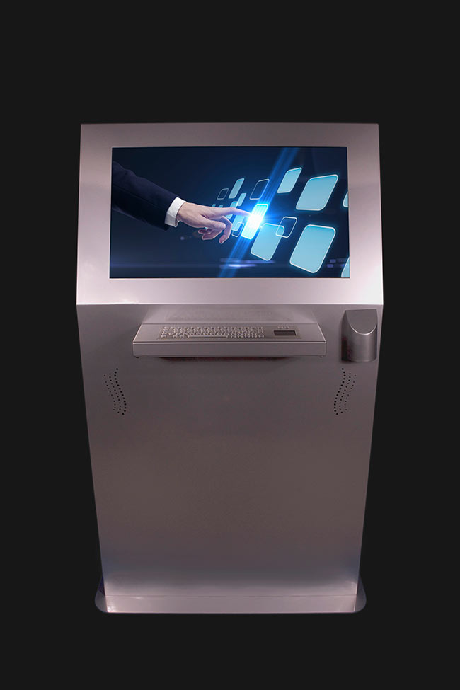Miner Kiosk Front | Touch Screen Solutions
