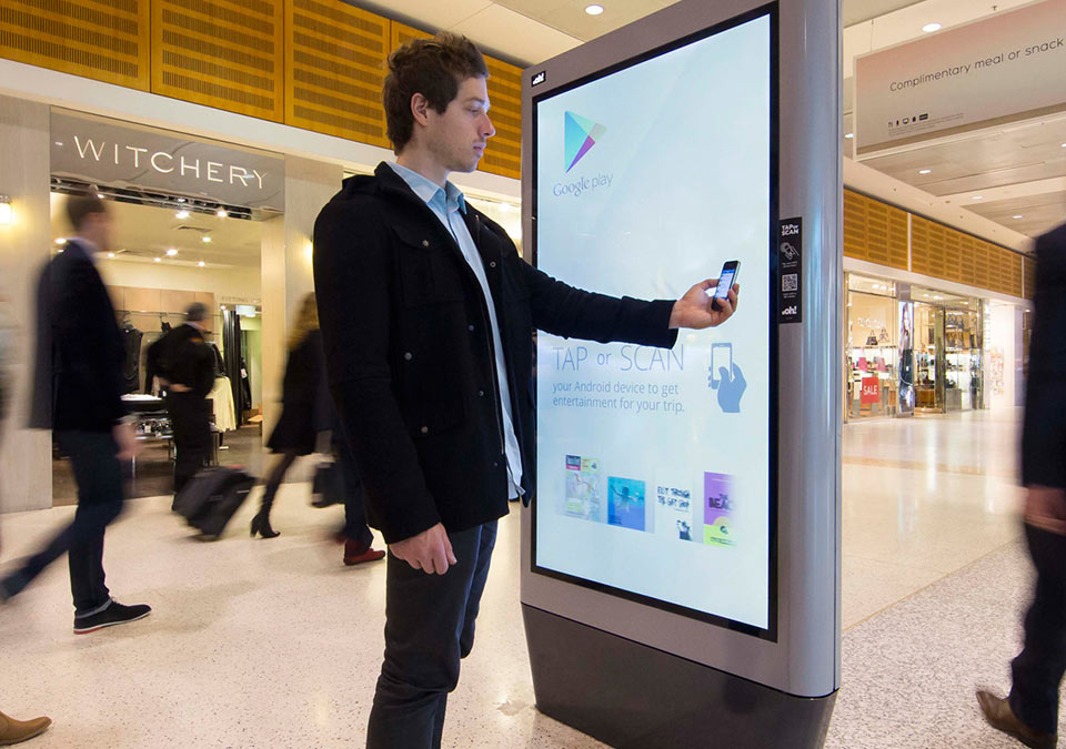 Qantas Interactive Signage | Touch Screen Solutions
