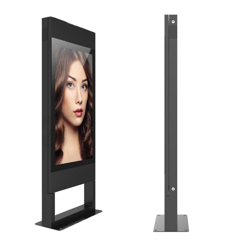 KWO43 Side on view Kiosk| Touch Screen Solutions