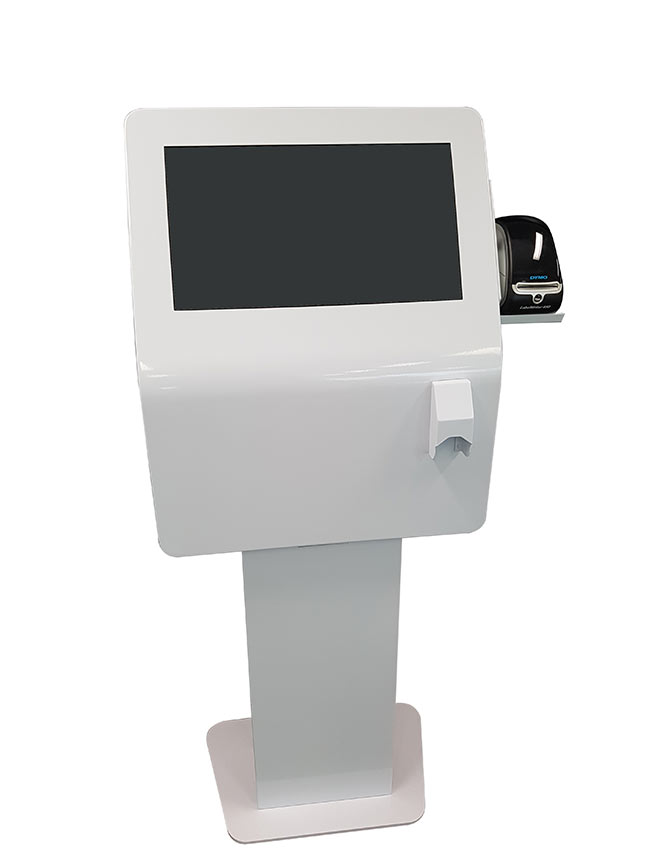 Silhouette S22 with Barcode | Touch Screen Solutions